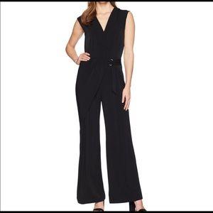 NEW Michael Kors medium black wide leg jumpsuit 💕